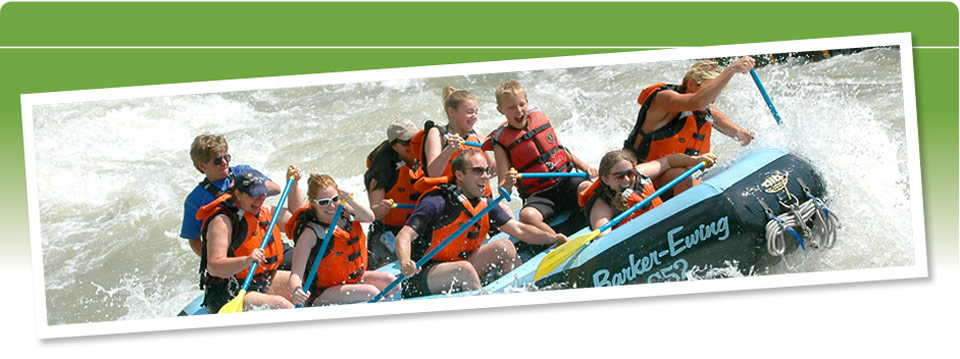 Book your whitewater adventure today!
