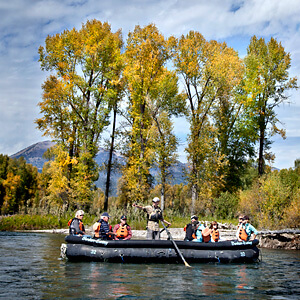 Jackson Hole Fall river trip