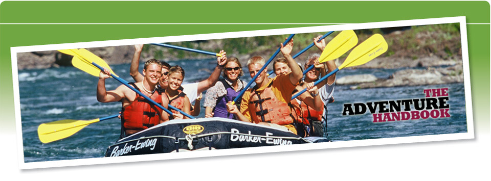 Barker-Ewing Whitewater rafting on The Snake River in Jackson Hole, Wyoming.