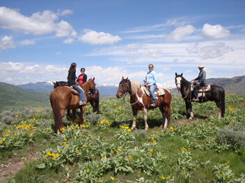 summer activities in jackson hole - horseback