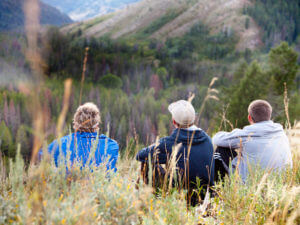 Less crowds Jackson Hole during Fall Hikes