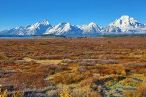 October shot of the Tetons